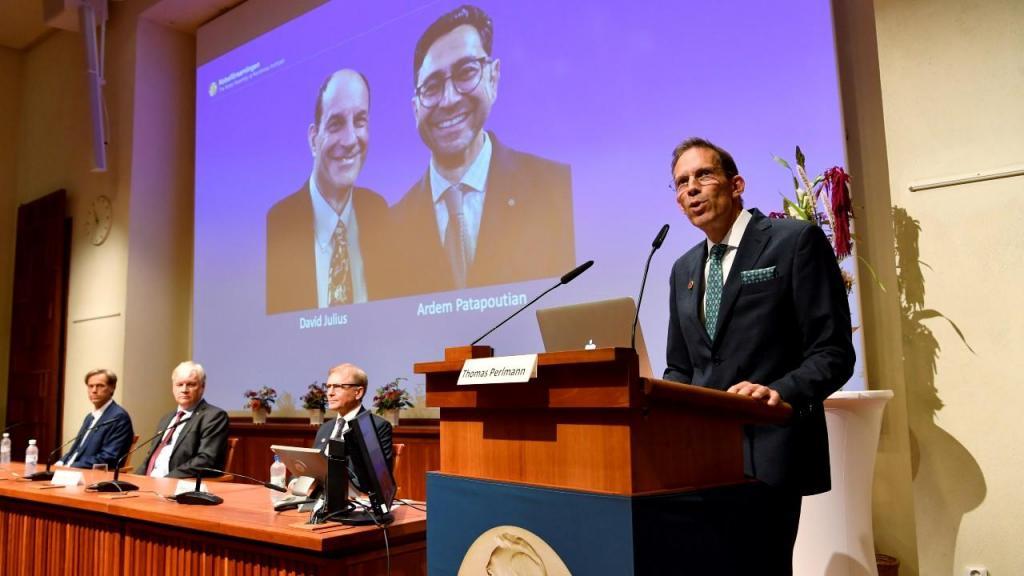 David Julius e Ardem Patapoutian vencem Nobel da Medicina de 2021