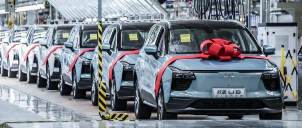 EV em expansão na China