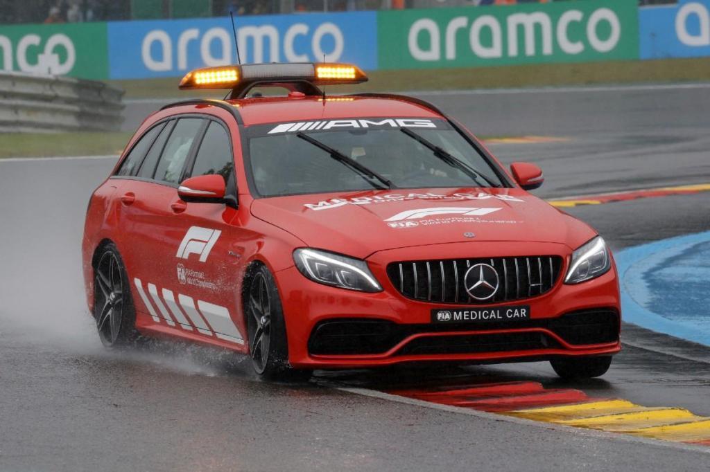 Medical Car Mercedes da F1 (Associated Press)