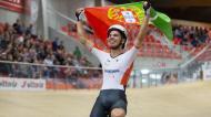 Rui Oliveira sagrou-se campeão europeu de scratch