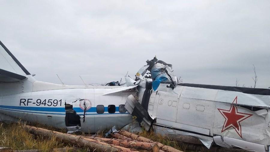 Queda de avião na Rússia