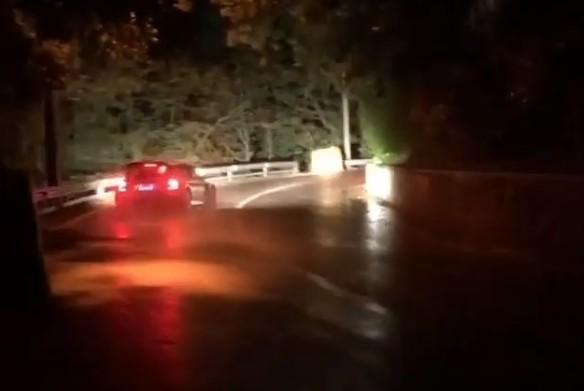 Acidente de Loris Capirossi em São Marino (captura Instagram Loris Capirossi)