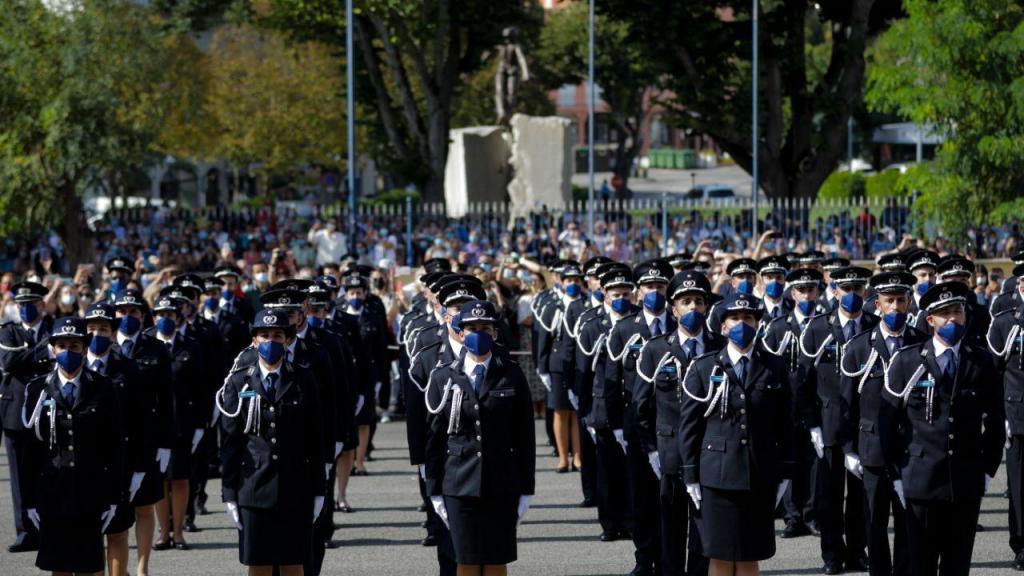 744 novos policias formados na Escola Prática de Policia de Torres Novas