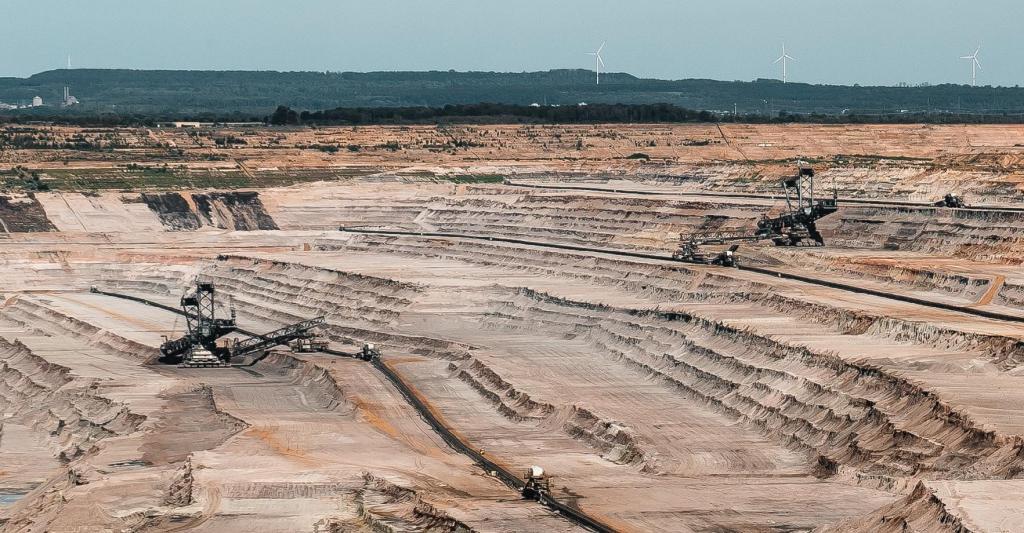 Exploração mineira na Austrália (Foto: Mika Baumeister/Unsplash)
