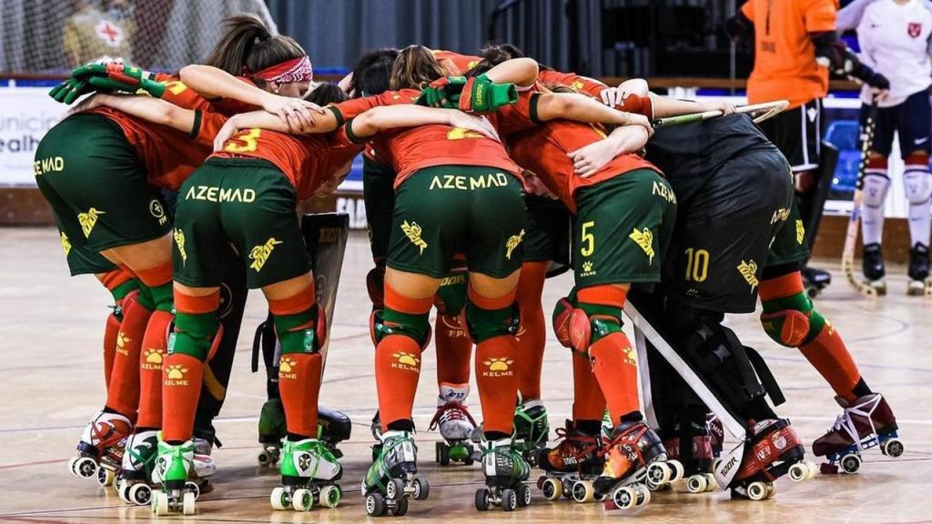 Seleção feminina de hóquei em patins no Europeu (FPP)