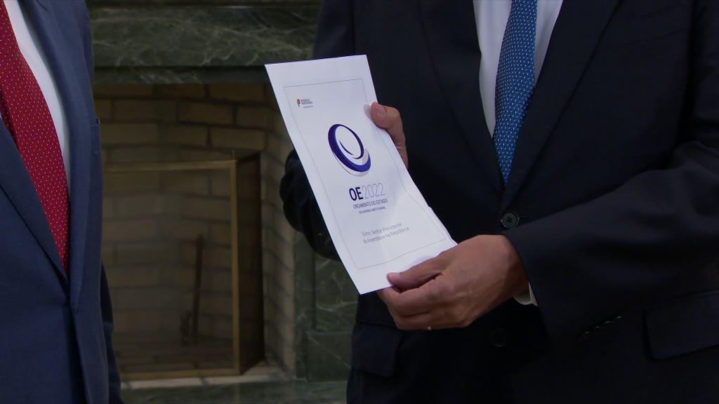 OE2022: João Leão entrega proposta do Governo a Ferro Rodrigues