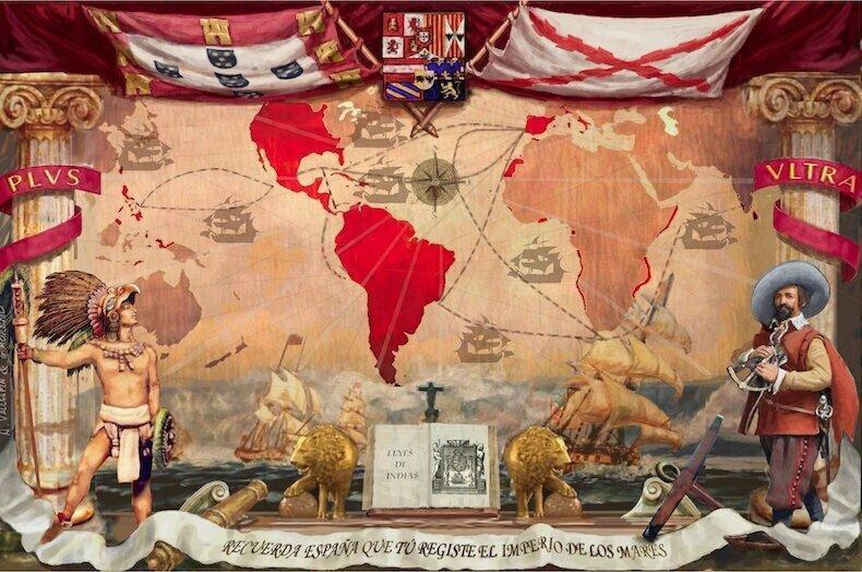 Partido nacionalista Vox celebra dia de Espanha com Portugal anexado no mapa