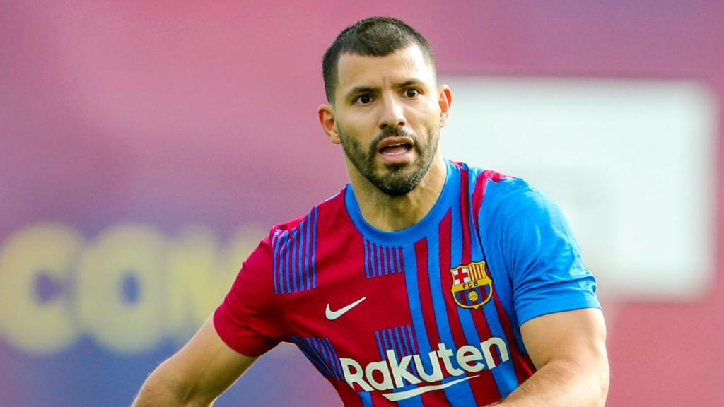 Aguero no Barcelona (FC Barcelona)