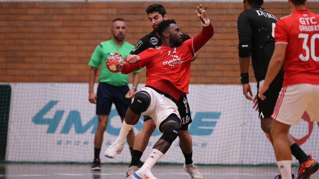 Andebol: Alexis Borges no Avanca-Benfica (SL Benfica)