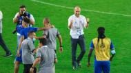 Leonardo Jardim festeja qualificação do Al Hilal para a final da Champions asiática (Al Hilal)