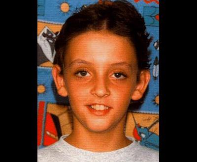 Fotografia de Rui Pedro aos 11 anos