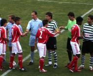 Jogo de juniores: Sporting-Benfica