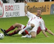 Qualificação Euro 2008: Letónia-Dinamarca