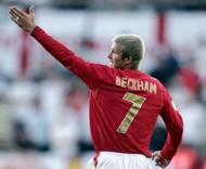 Qualificação Euro 2008: Estónia-Inglaterra, Beckham