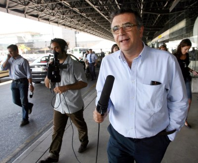 Sá Fernandes fez de repórter televisivo (Inácio Rosa/LUSA)