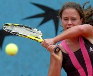 Michelle de Brito em Roland Garros (Foto EPA)