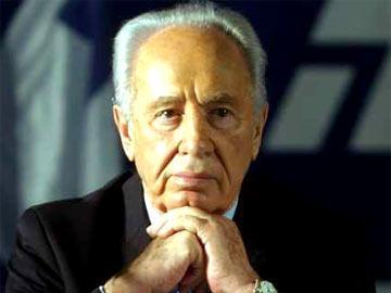Shimon Peres, líder do partido Trabalhista