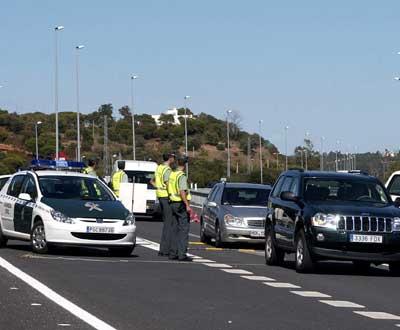 Operação stop na fronteira - Foto Luís Forra/Lusa