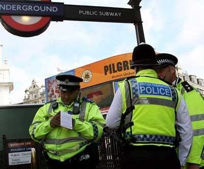 Londres: bomba encontrada num carro - Foto EPA