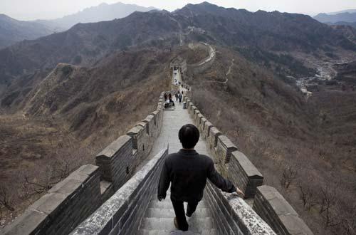7 Maravilhas - Muralha da China (foto - Lusa)