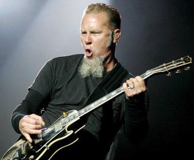 Metallica na Áustria (foto Lusa)