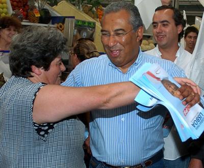 António Costa em campanha eleitoral - Foto Lusa, Manuel de Almeida