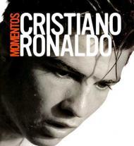 Imagens do livro «Momentos», de Cristiano Ronaldo