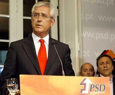 Fernando Negrão, na sede do PSD - Foto Tiago Petinga/Lusa