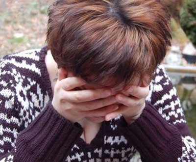 Depressão (foto de arquivo)