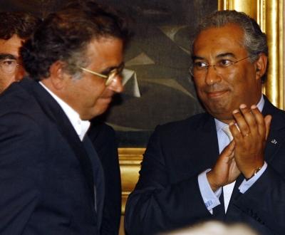 António Costa e Sá Fernandes na tomada de posse (TIAGO PETINGA/LUSA)