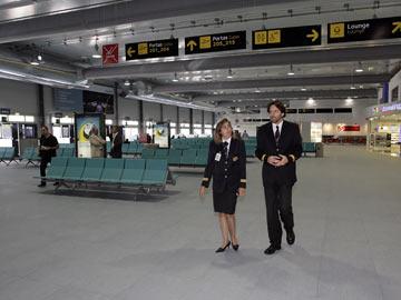 Inauguração do novo terminal da Portela