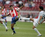At. Madrid-Lazio (foto EPA/Olaf Kraak)