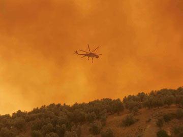 Grécia: portugal envia Canadair para combate ao fogo