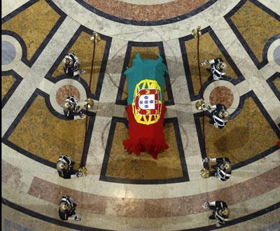 Cerimónia de trasladação dos restos mortais de Aquilino Ribeiro para o Panteão - Foto Lusa, Inácio Rosa