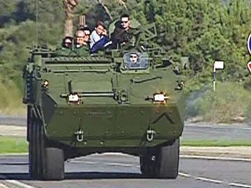 Exército: Novos blindados entram ao serviço