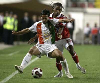 Carlsberg Cup: E. Amadora-Benfica (foto: António Cotrim / Lusa)