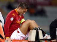 Francesco Totti lesionado