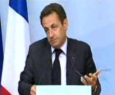 Nicolas Sarkozy, presidente francês (frame Youtube)