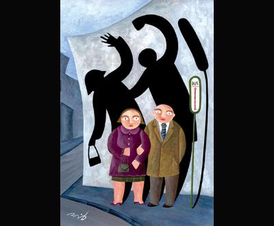 «A violência não faz o meu género»: exposição de cartoons
