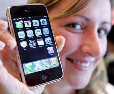 IPhone chegou à Europa (foto Lusa)