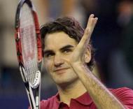 Federer no Masters de Xangai