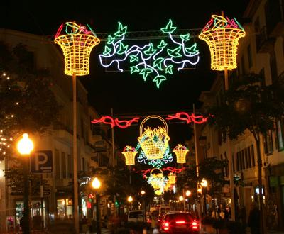 Luzes de Natal na Madeira - Foto Homem de Gouveia/Lusa