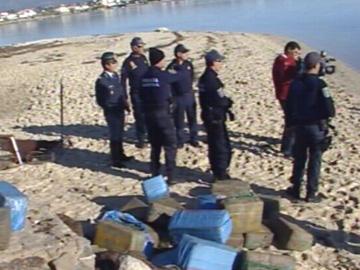 Uma tonelada de Haxixe apreendida no Algarve