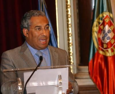 António Costa em conferência de imprensa (MÁRIO CRUZ/LUSA)