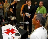 Romário acusou doping (Foto EPA)