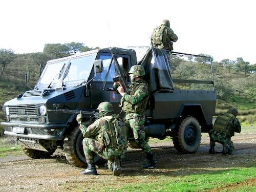 Exercício de militares portugueses (Hugo Beleza)