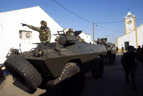 Exercício de militares portugueses (Nuno Veiga/Lusa)