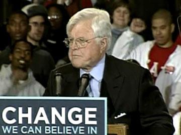 Ted Kennedy: Senador apoia Barack Obama