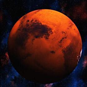 Imagem do «planeta vermelho»