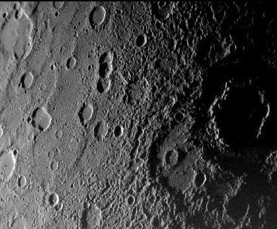 Novas fotografias de Mercúrio (Foto da NASA)